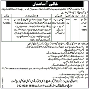 Monitoring & Evaluation Assistant (M&EAs) required by
