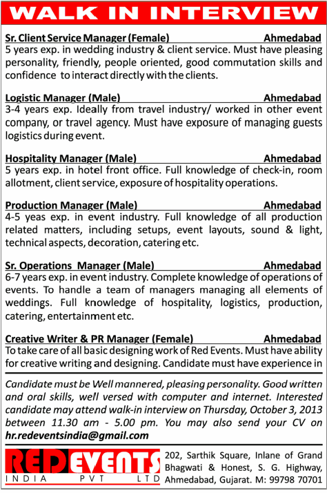 Travel Agency Operations Manager Job Description