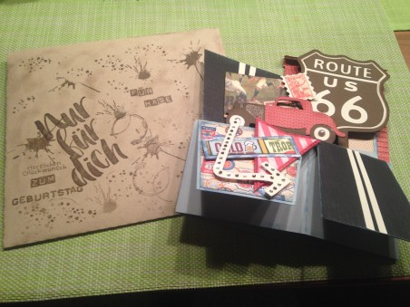 Boxkarte mit Umschlag