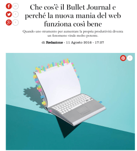 Marie Claire Italia –What is a Bullet Journal and Why the New Internet Craze Works So Well