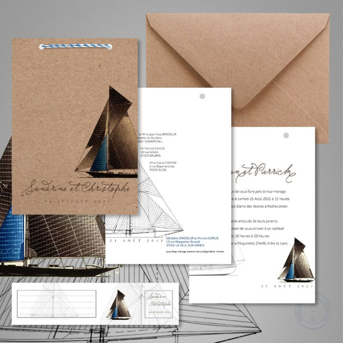 faire-part-mariage-ecologique-en-papier-recyclé-theme-mer-et-bateau-1
