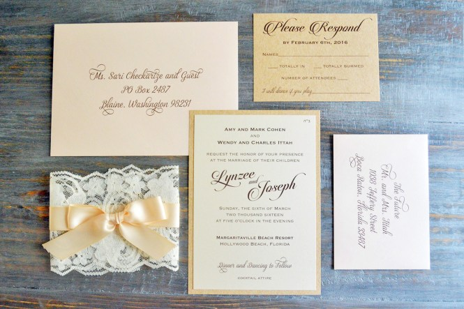 How To Address Wedding Invitation Envelopes Paper Lace