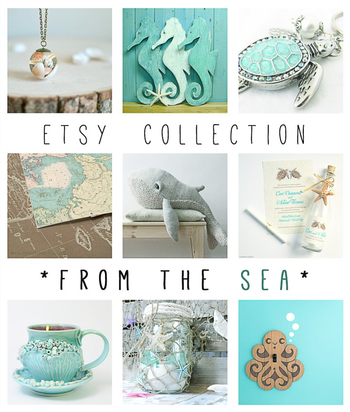 Etsy Collection - From The Sea - Paper and Landscapes