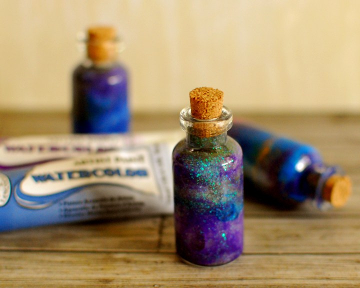 Tiny Galaxy in a Bottle – How to make them