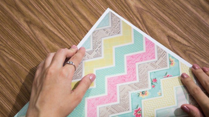 Easy Scrapbook Paper Box Tutorial 2