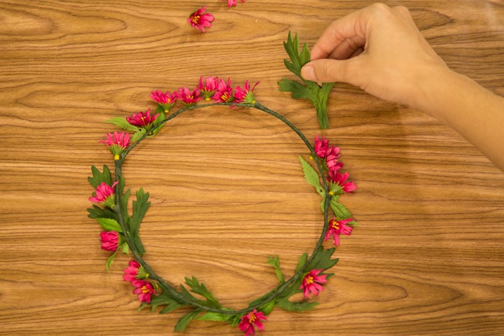 DIY Flower Crown 8