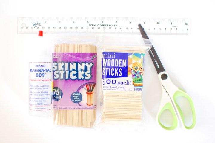 Mini Crates - Materials - Paper and Landscapes