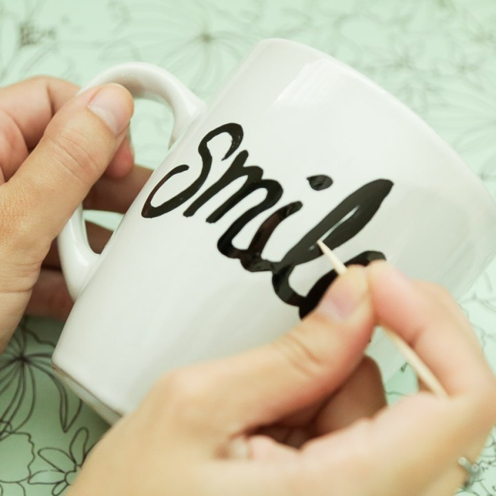 DIY Sharpie Mug Tutorial - 13