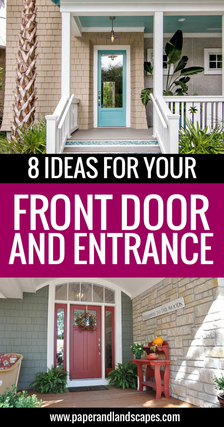 Ideas Front Door - Paper and Landscapes