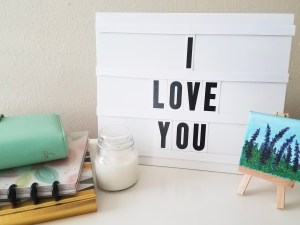 DIY Message Board - Paper and Landscapes