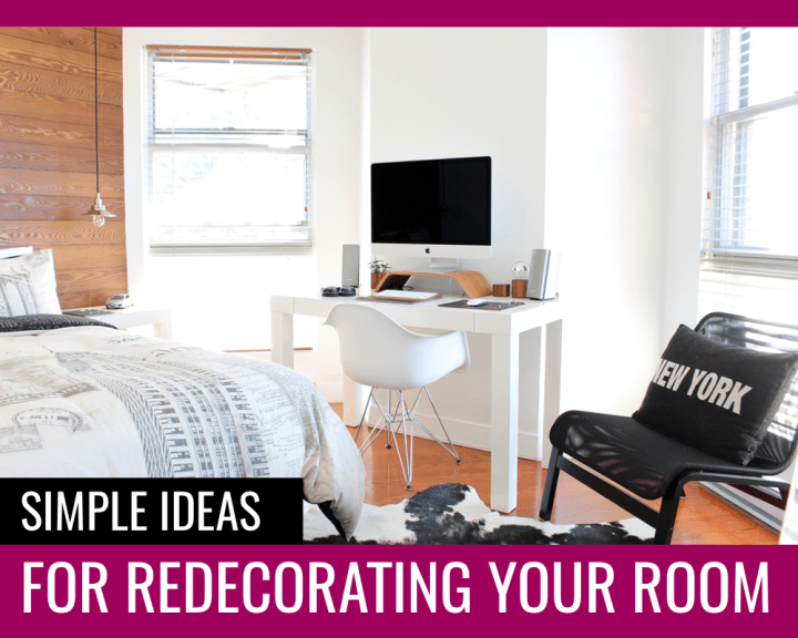 Simple room redecorating ideas - Paper and Landscapes