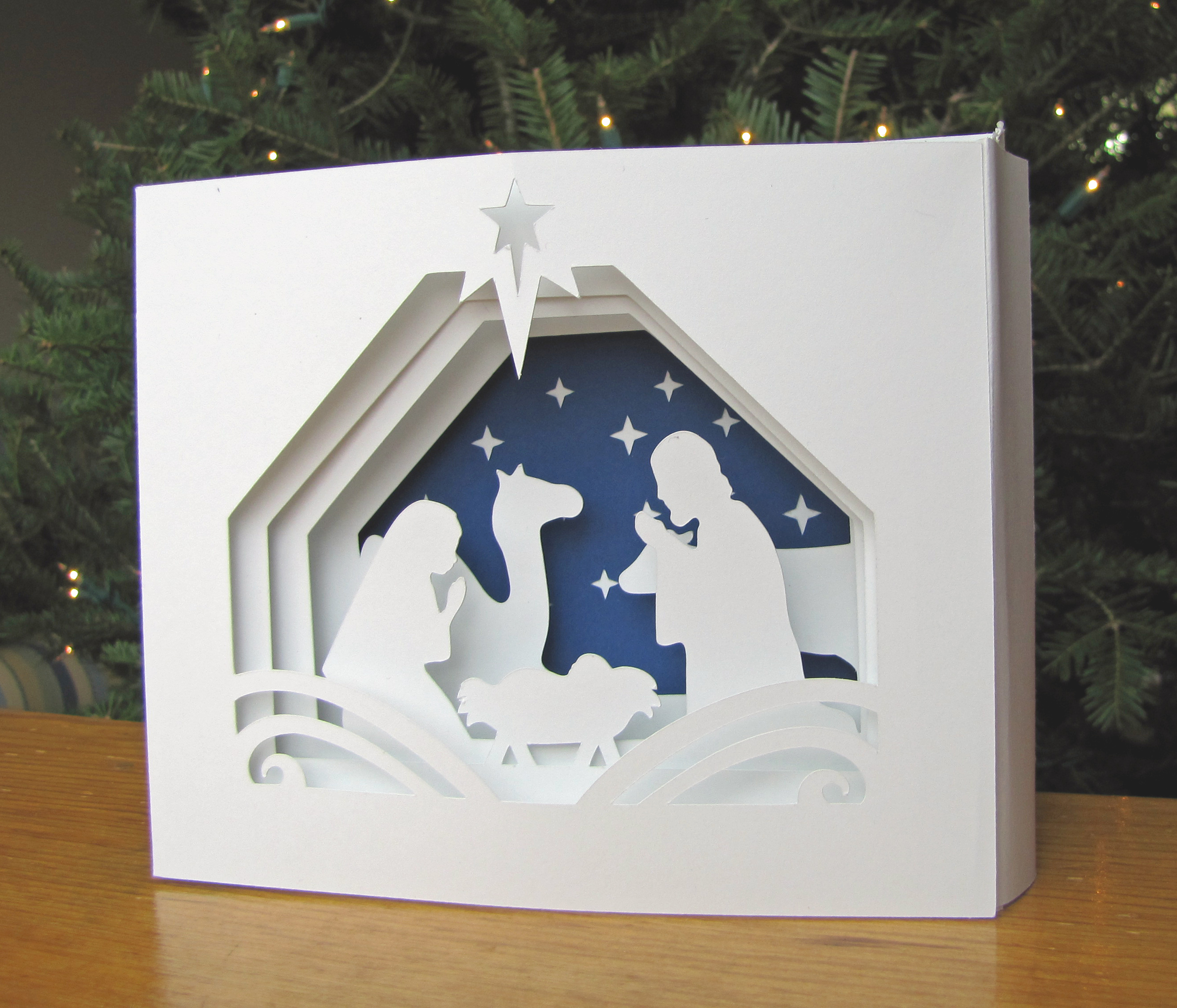 3D Cards Make A Pretty Impressive Gift Paper And Musings