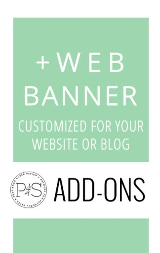 Add-On Products: Web Banner