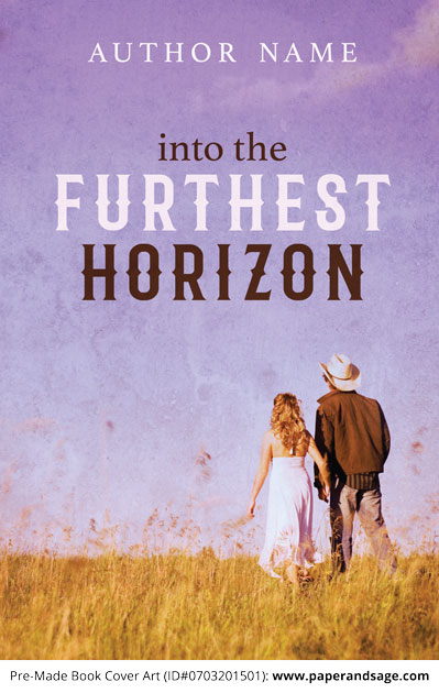 Pre-Made Book Cover ID#0703201501 (Into the Furthest Horizon)