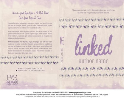 Print layout for Pre-Made Cover Design #0109201501