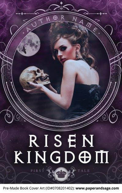 Pre-Made Book Cover ID#0708201402 (Risen Kingdom)