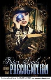 Pre-Made Book Cover ID#1210201302 (Paper Trails & Precognition)