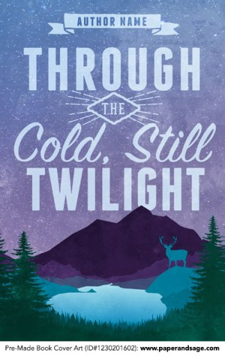 Pre-Made Book Cover ID#1230201602 (Through the Cold, Still Twilight)