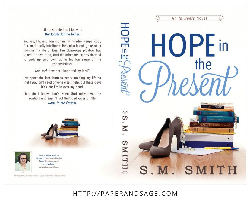 Print layout for Hope in the Present by SM Smith