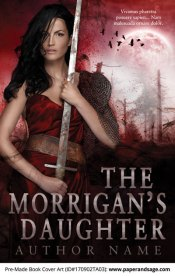 Pre-Made Book Cover ID#170902TA03 (The Morrigan's Daughter)