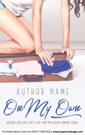 Pre-Made Book Cover ID#171006TA02 (On My Own)