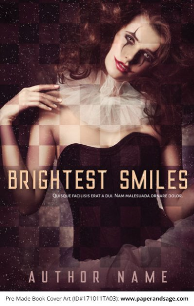 Pre-Made Book Cover ID#171011TA03 (Brightest Smiles)