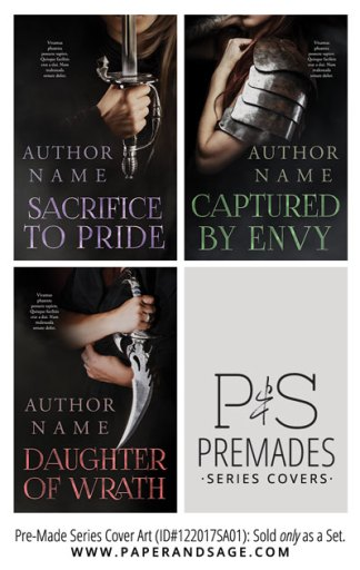 PreMade Series Covers ID#122017SA01 (Sacrifice to Pride Series, Only Sold as a Set)