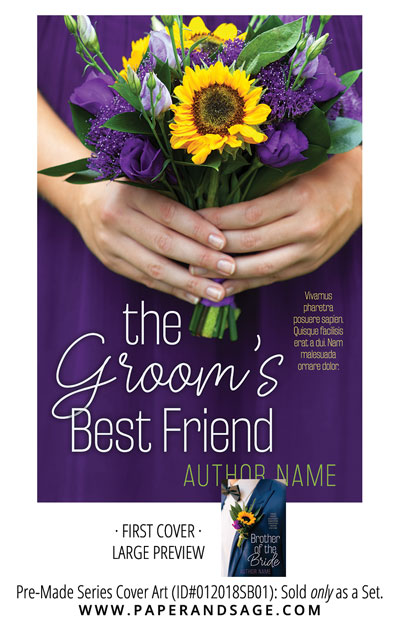 PreMade Series Covers ID#012018SB01 (Groom's Best Friend, Only Sold as a Set)