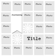 Multiphoto one page layout