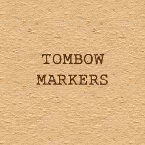 Tombow Markers