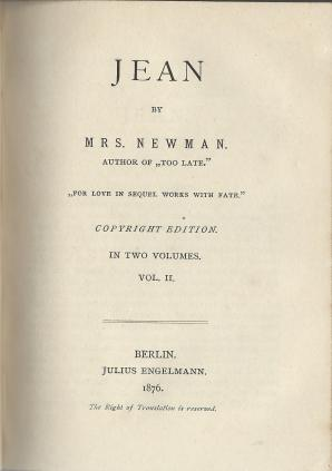 Asher 109 Jean Title page