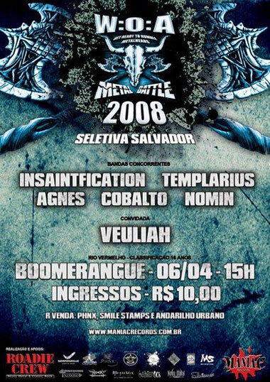 Cartaz Wacken Open Air