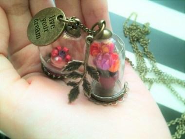 My 3D Miniature Quilling Pendants!
