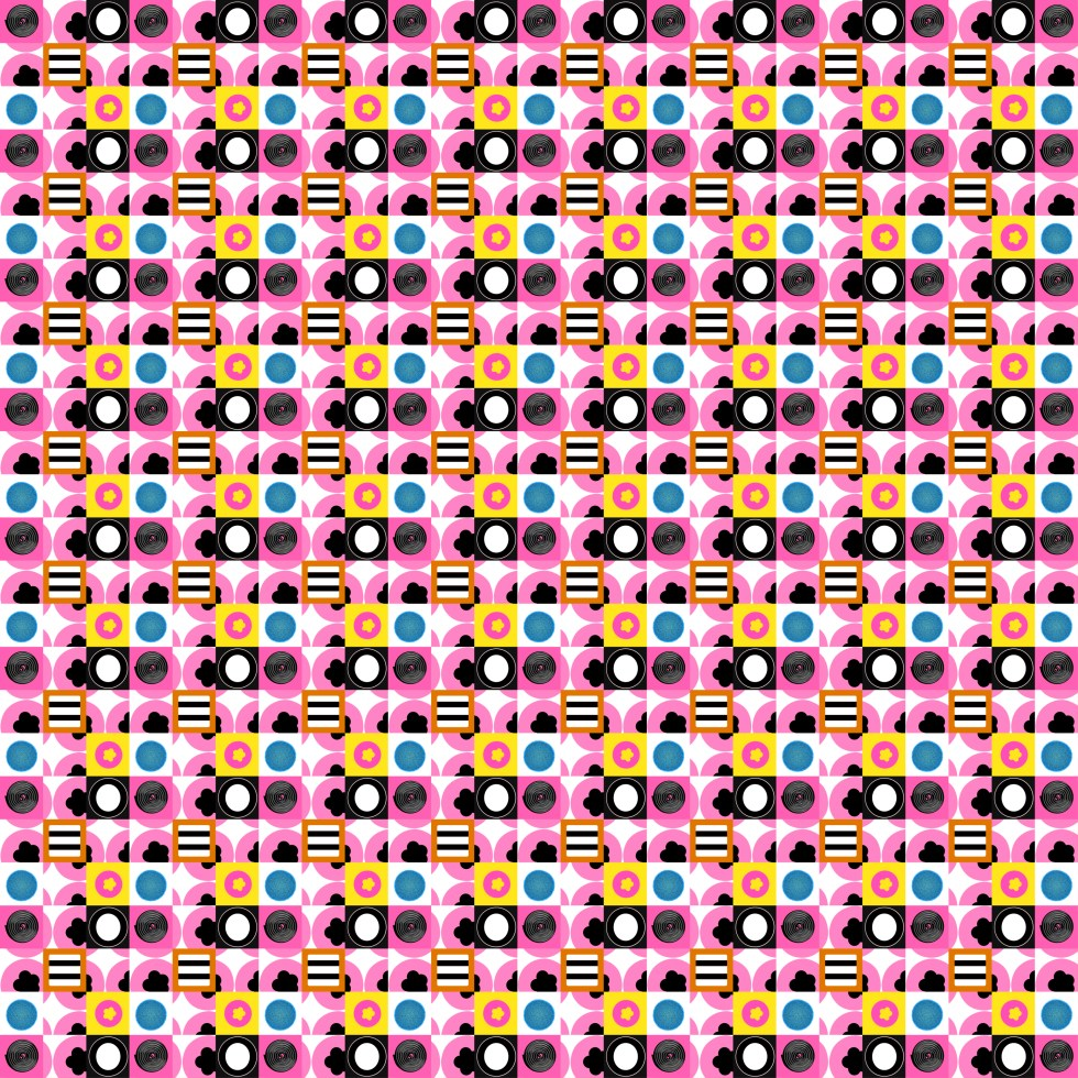 liquorice all sorts check by Leanne Talbot Nowell at paperbrush