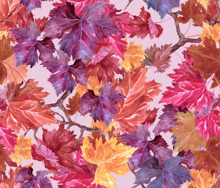 Autumn leaves by paperbrush