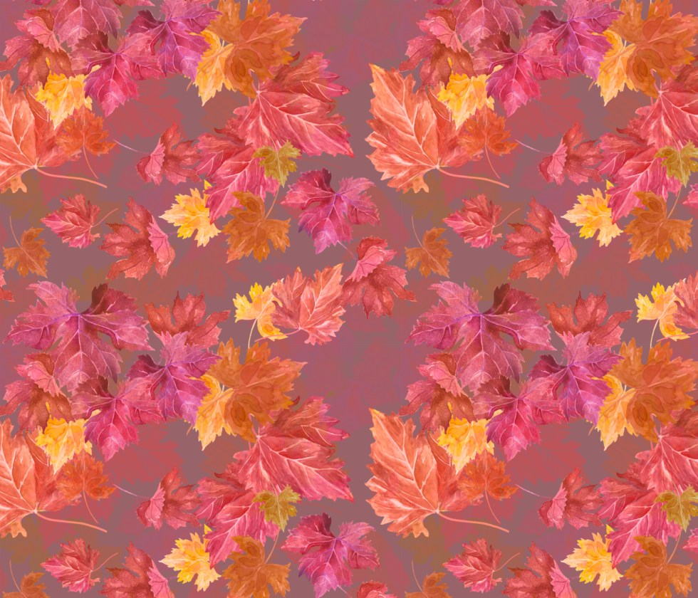 Autumn scatter by Leanne Nowell