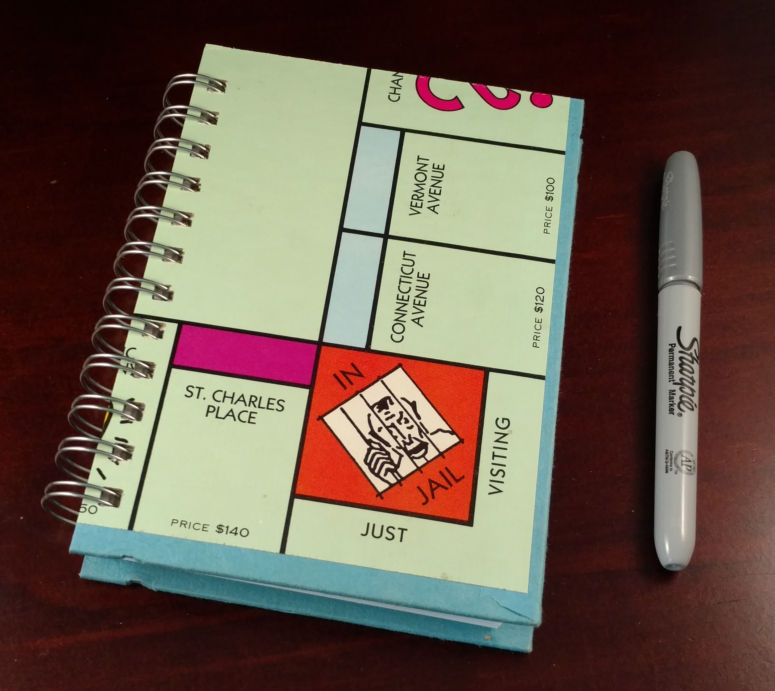 board notebook game