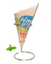 French fry cone, Hmm - PaperChipCones.com