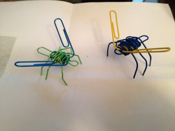 Sculpture Paperclip Creations