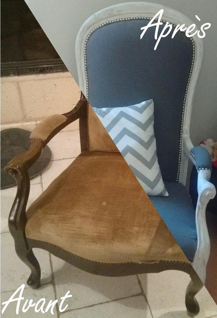 Tutoriel DIY Rnovation dun vieux fauteuil Voltaire