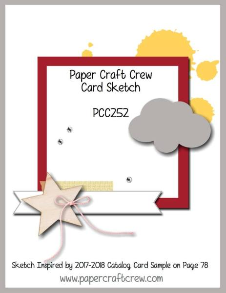 Paper Craft Crew Sketch 252