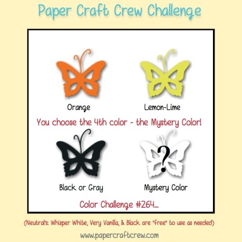 Color Challenge for Paper Craft Crew 264