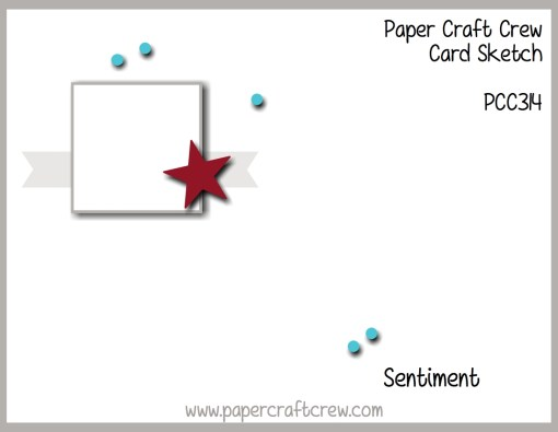 Paper Craft Crew Sketch Challenge 314