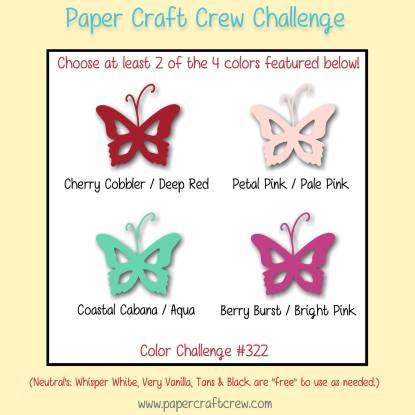 PCC322 Valentine Color Challenge