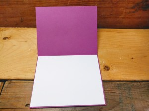 how to make a birthday card - inside
