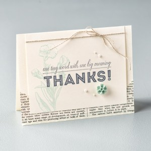thank you messages example card