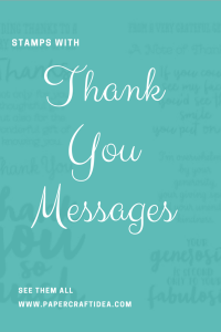 thank you messages for cards, thoughts, words, for friends, for family