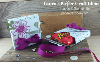 how to make a small box out of paper, diy treat box, party favors, paper crafts, envelope punch board projects