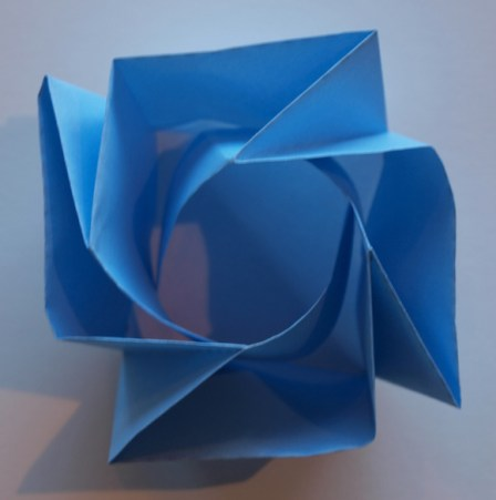 pirottini origami rose box