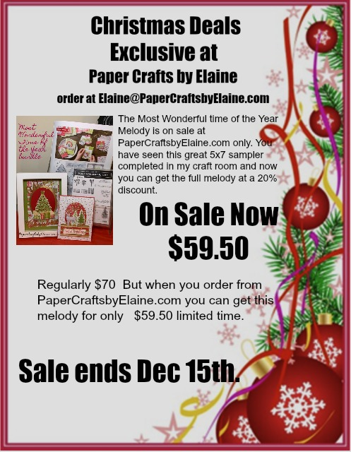 On Sale-Most Wonderful Time of the Year